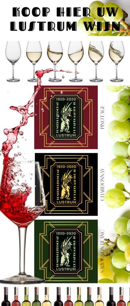 , Lustrum wijn